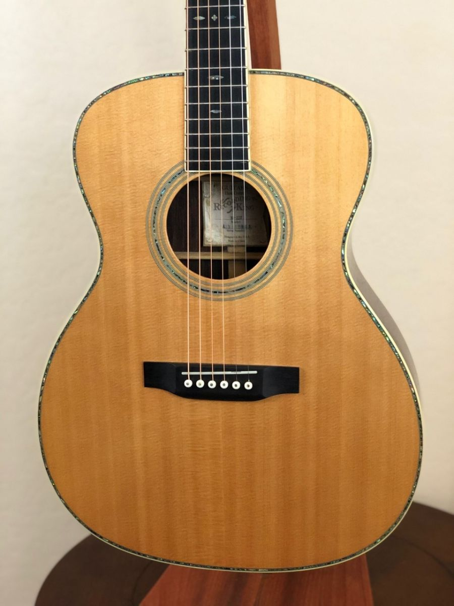 Used Recording King Ro 227 Acoustic Guitar Sun Valley